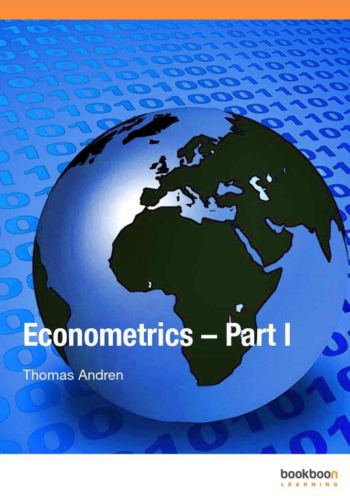 Econometrics – Part I