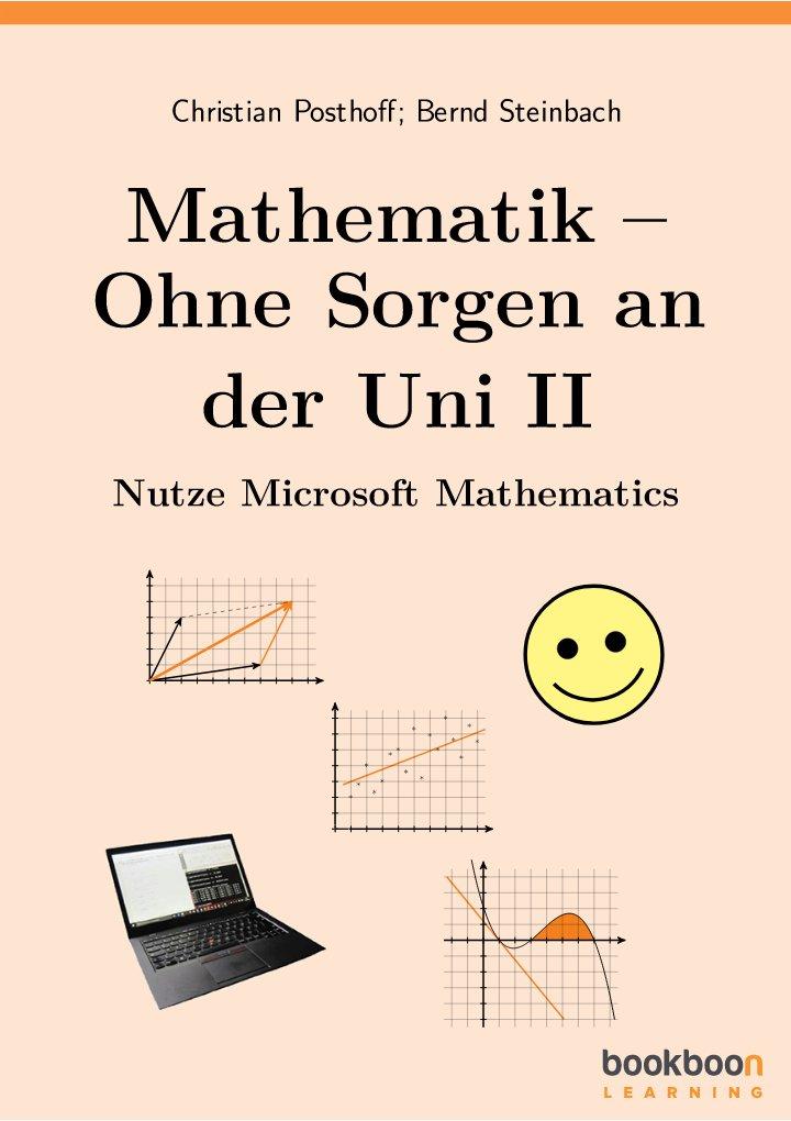 Mathematik – Ohne Sorgen an der Uni II