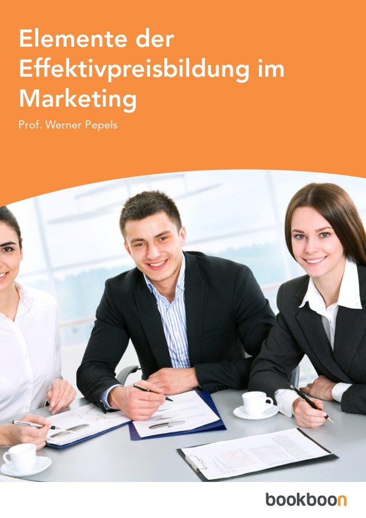 Elemente der Effektivpreisbildung im Marketing
