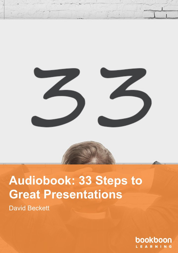 Audiobook: 33 Steps to Great Presentations