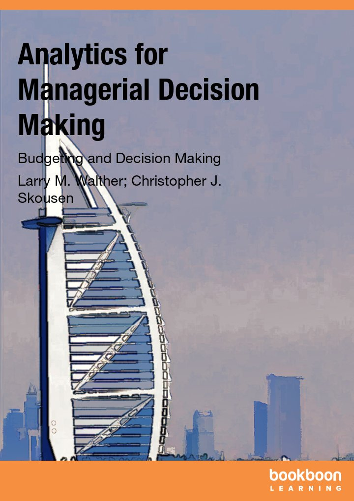 Analytics for Managerial Decision Making