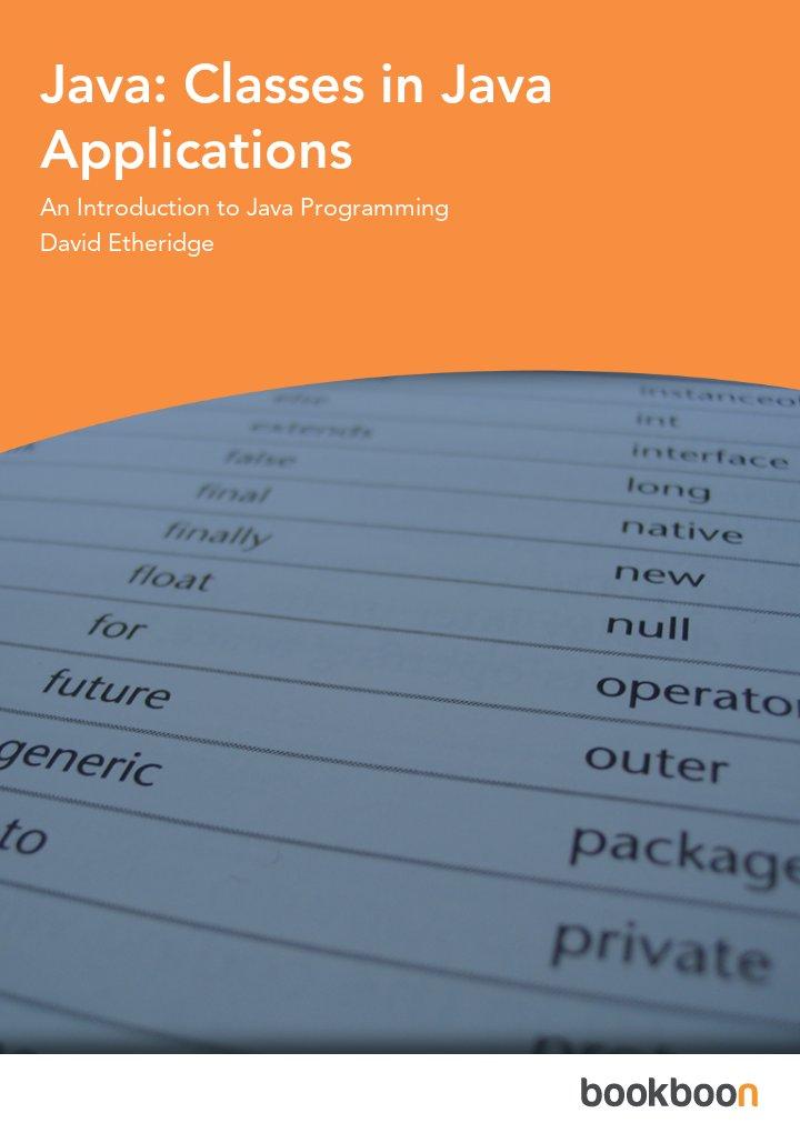 Java: Classes in Java Applications