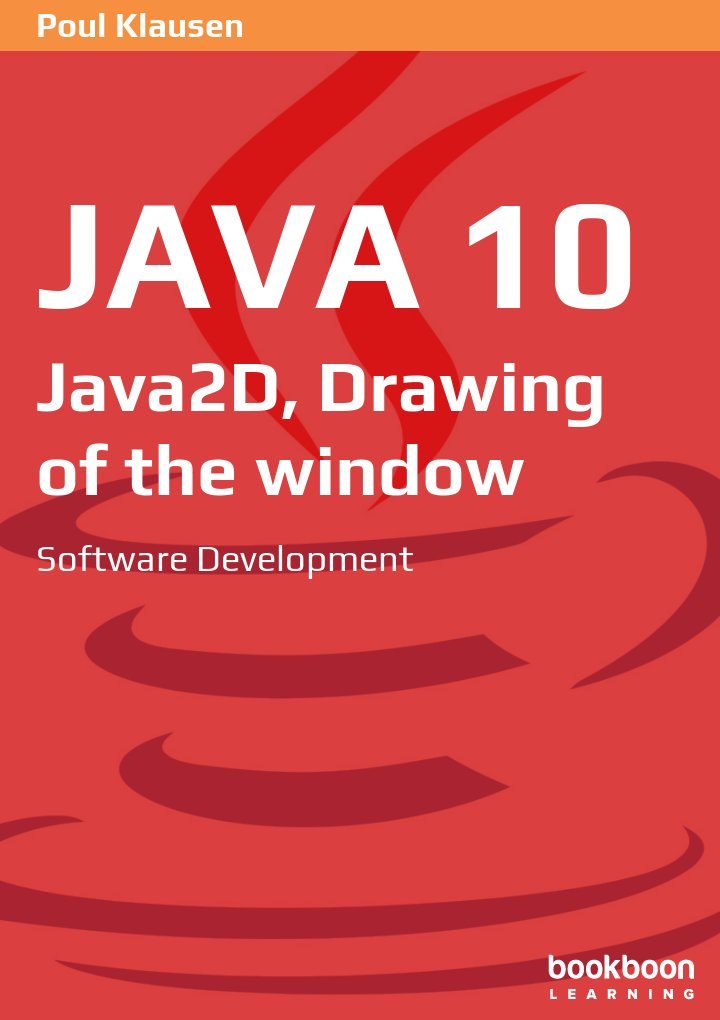 Java 10: Java2D, Drawing of the window
