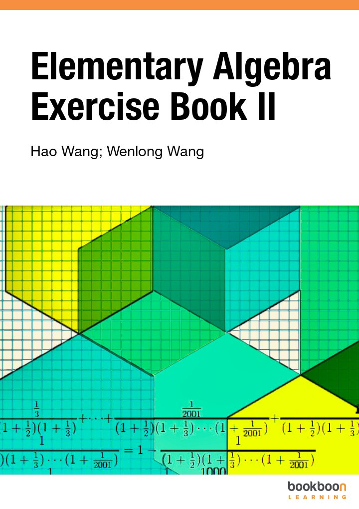 Elementary Algebra Exercise Book II