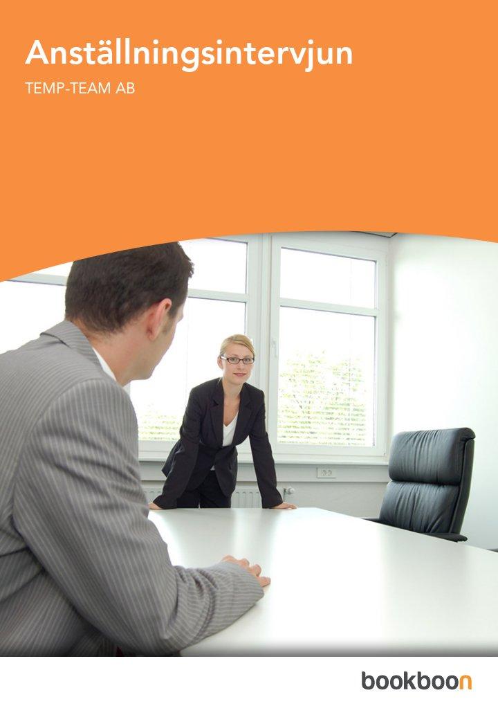 Anställningsintervjun
