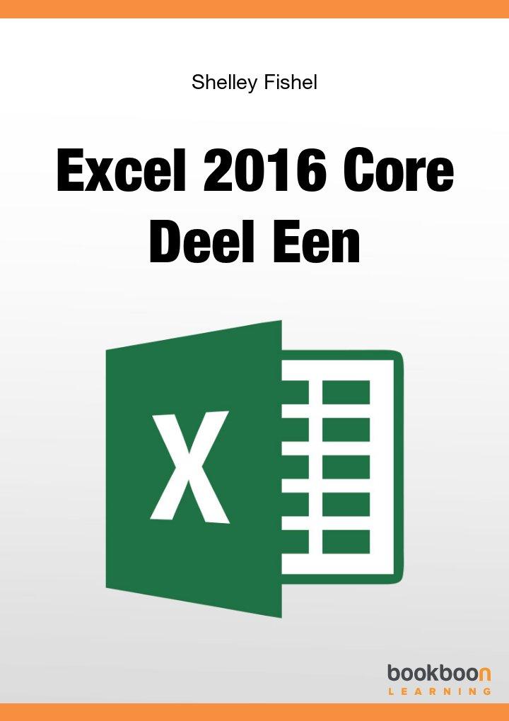 Excel 2016 Core Deel Een