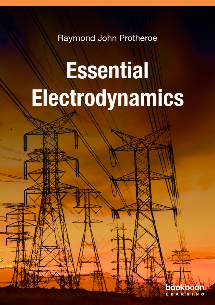 Logo for Essential Electrodynamics