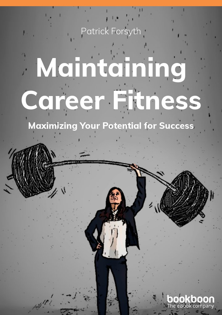 Maintaining Career Fitness - Maximizing your potential for success icon