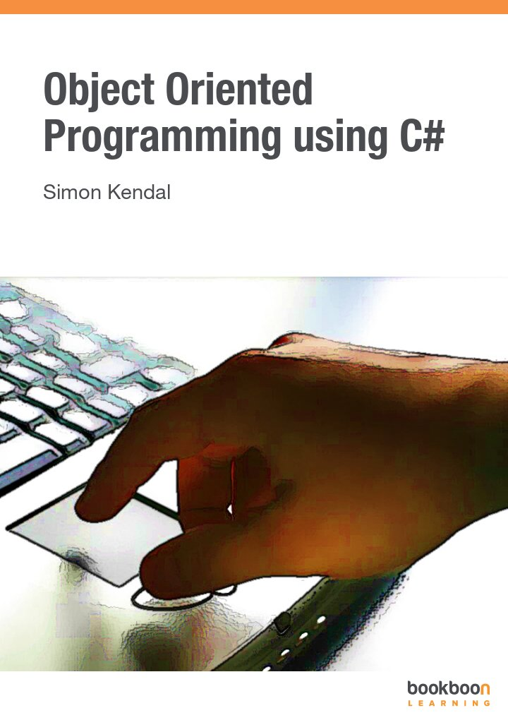 Object Oriented Programming using C#
