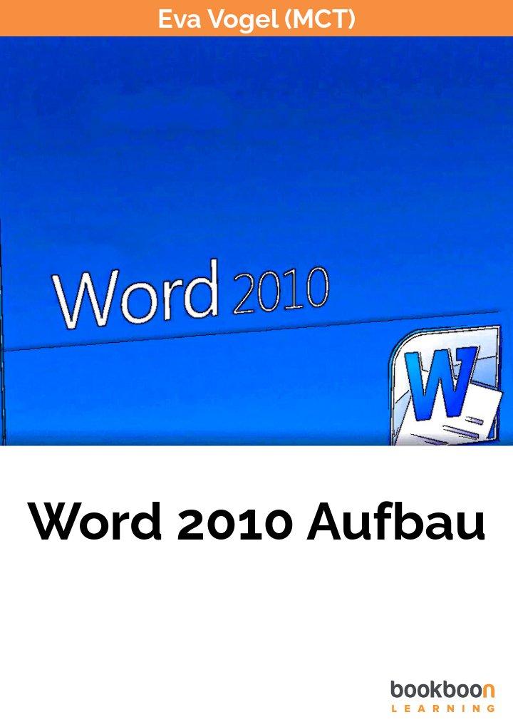 Word 2010 Aufbau