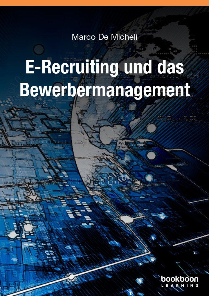 E-Recruiting und das Bewerbermanagement