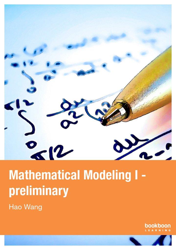 mathematical modeling i