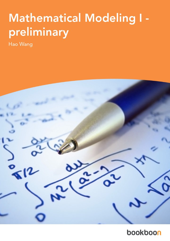 Mathematical Modeling I - preliminary