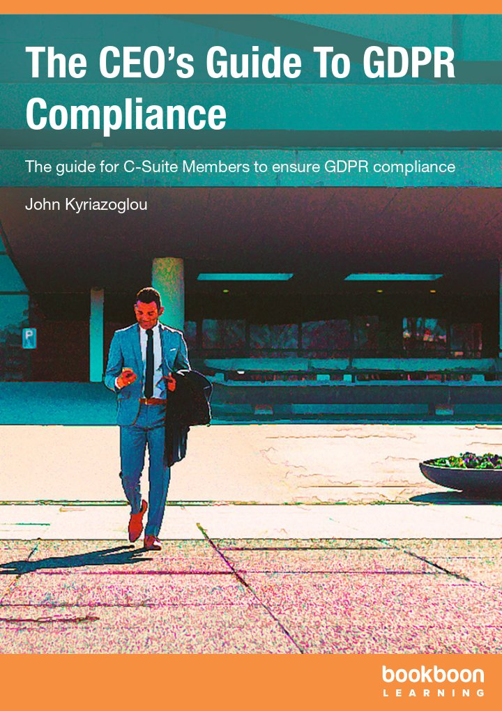 The CEO's Guide To GDPR Compliance