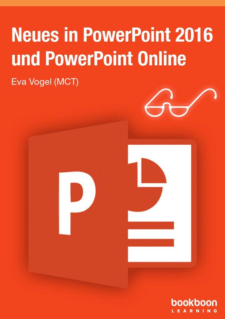 Neues in PowerPoint 2016 und PowerPoint Online