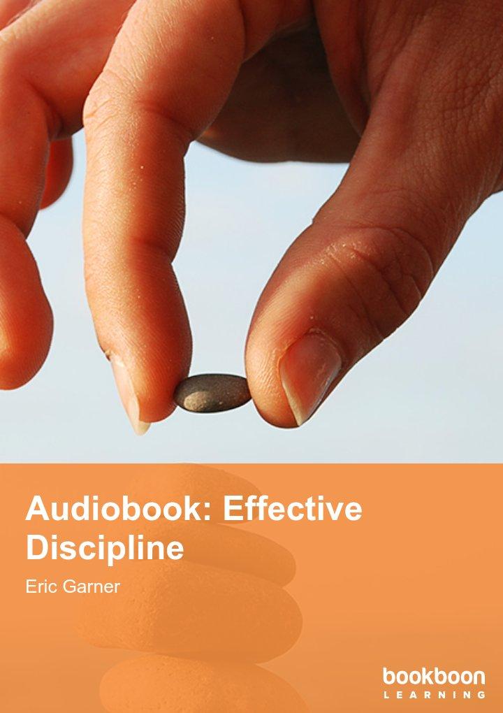 Audiobook: Effective Discipline