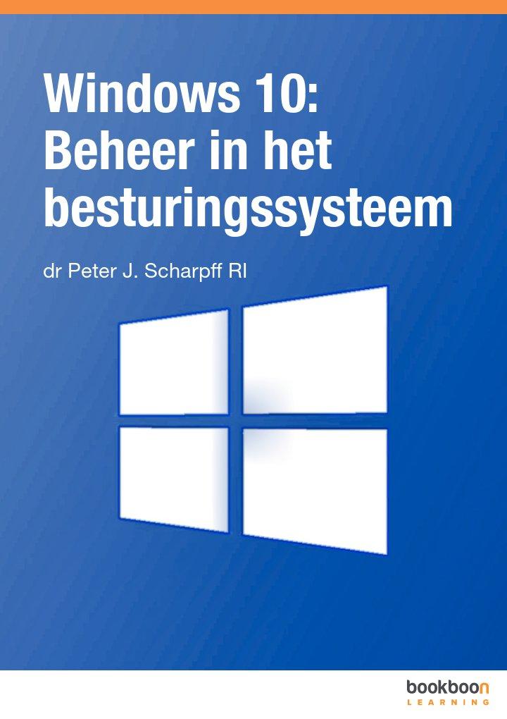 Windows 10: Beheer in het besturingssysteem