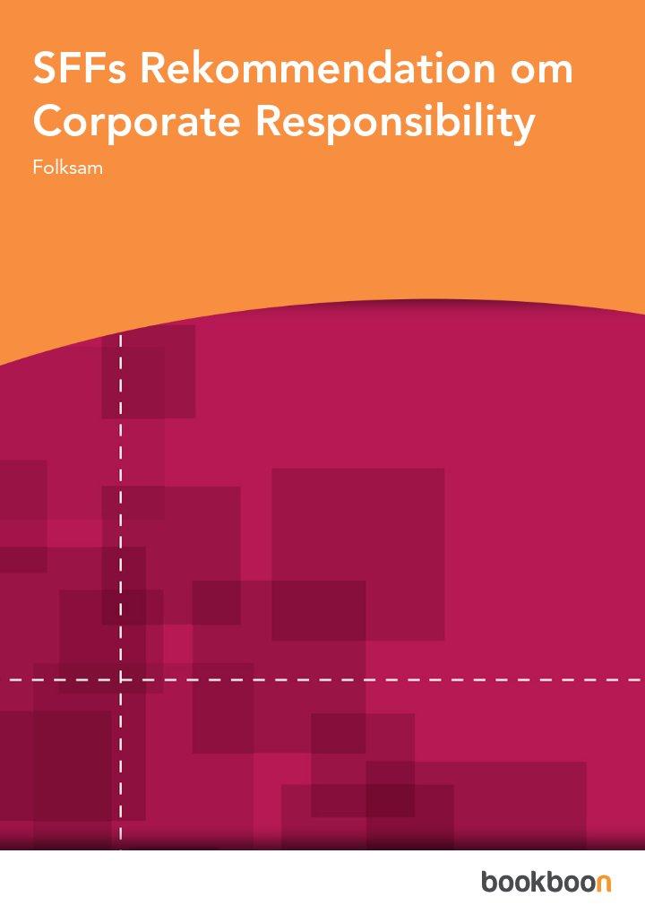 SFFs Rekommendation om Corporate Responsibility