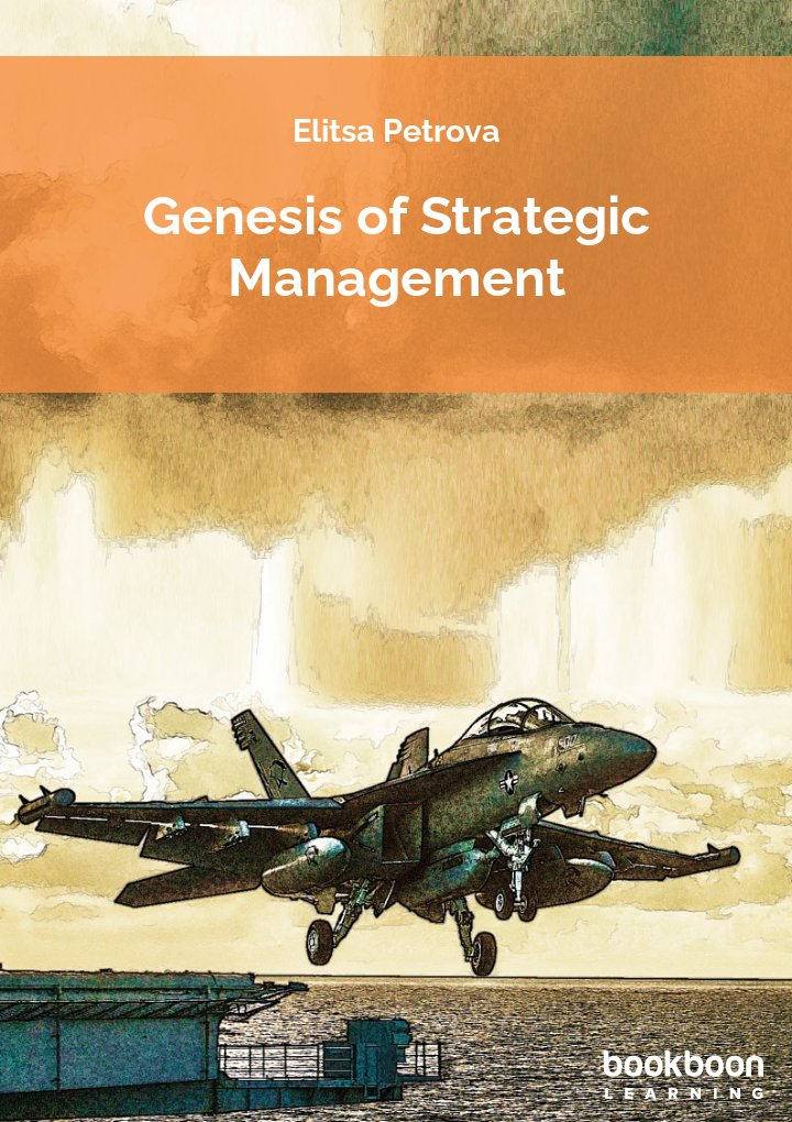 Genesis of strategic management icon