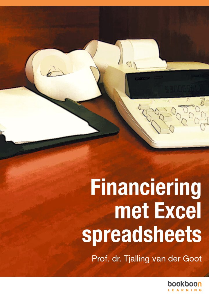 Financiering met Excel spreadsheets