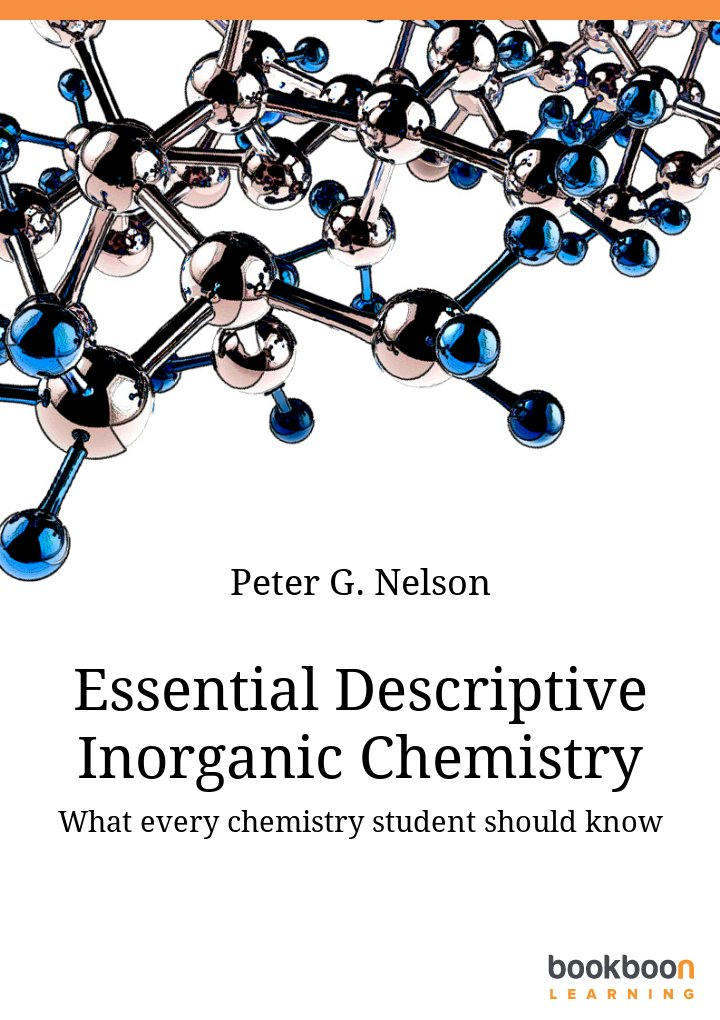 Essential Descriptive Inorganic Chemistry - What every chemistry student should know icon