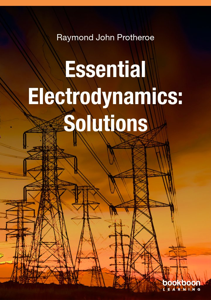 Engineering books essential electrodynamics solutions fandeluxe Choice Image
