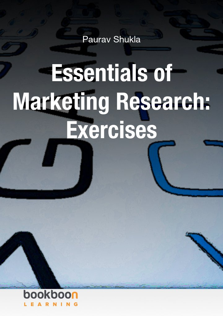 Essentials of Marketing Research: Exercises