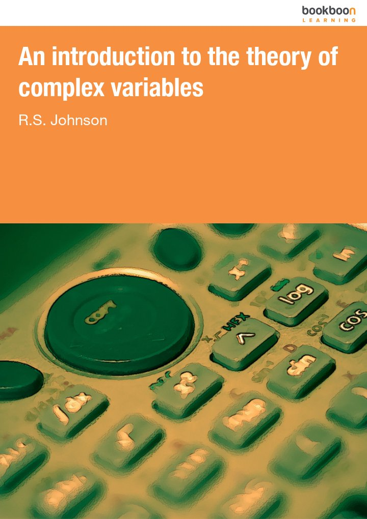 An introduction to the theory of complex variables icon