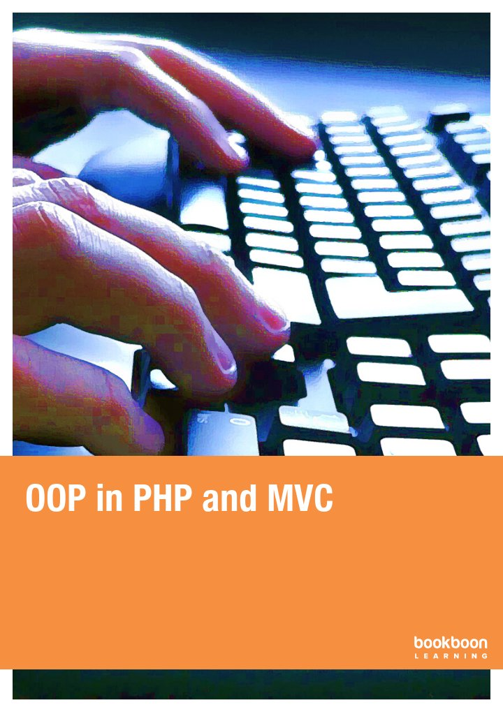 OOP in PHP and MVC