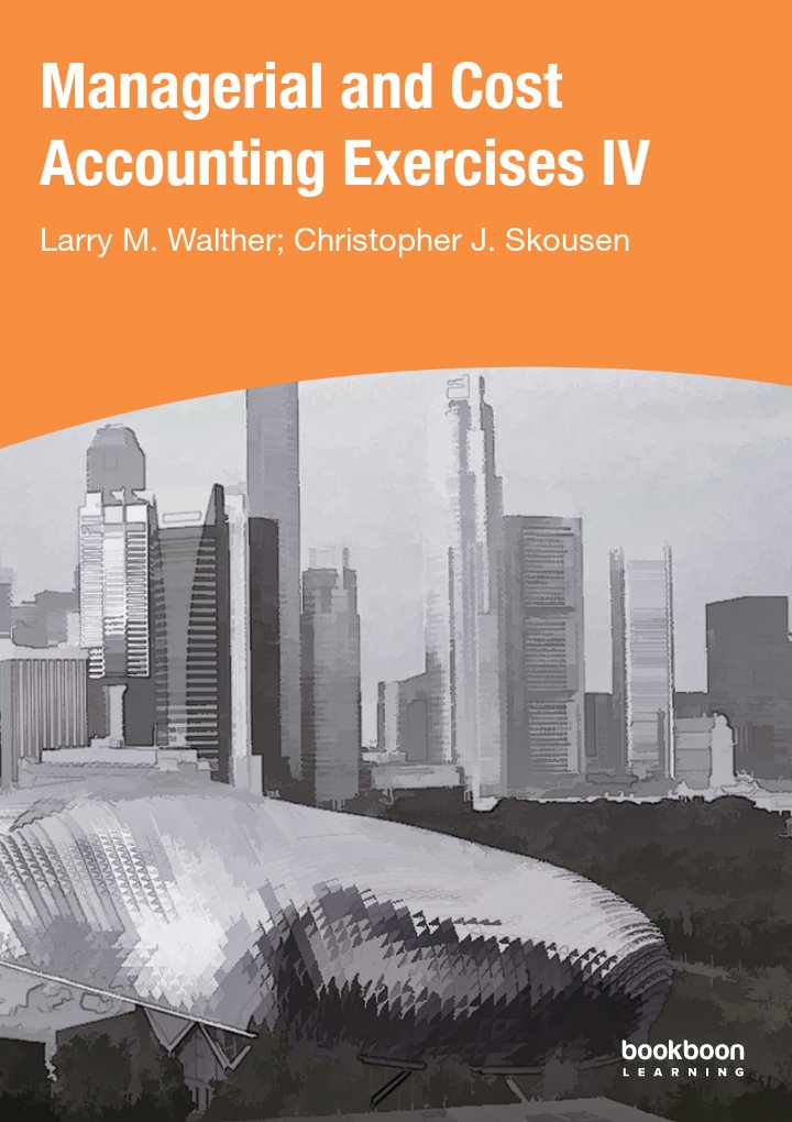 Accounting principles managerial and cost accounting exercises iv fandeluxe Image collections