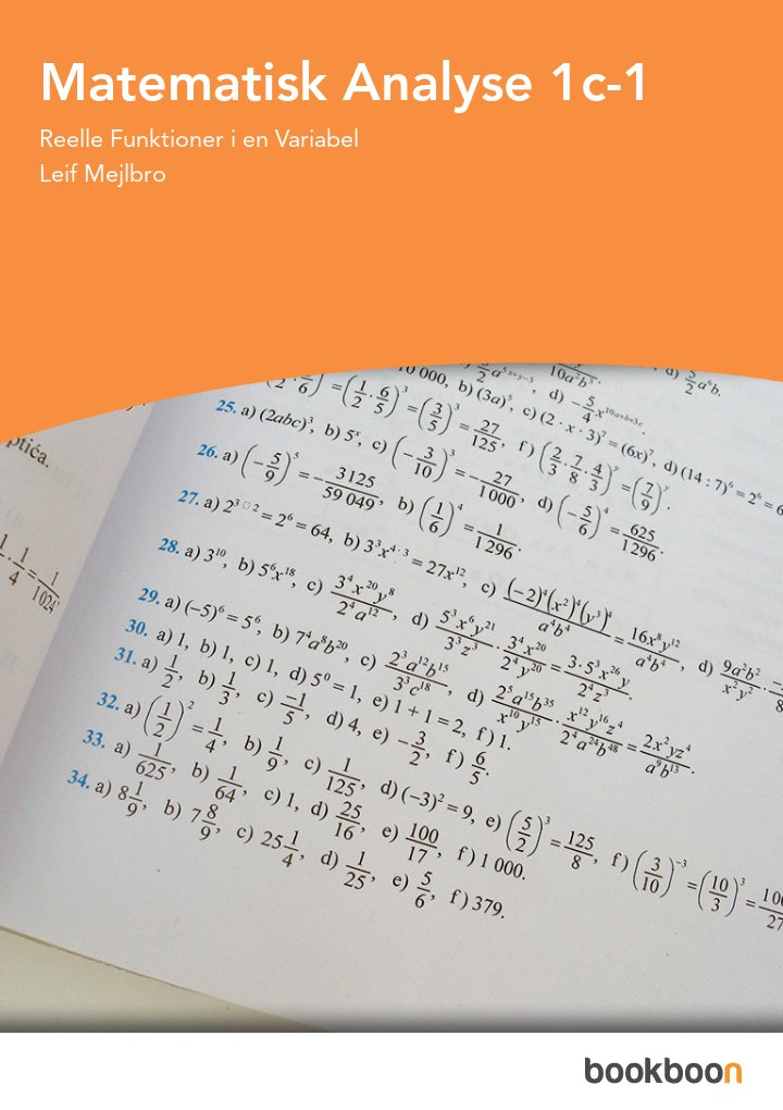 Matematisk Analyse 1c-1